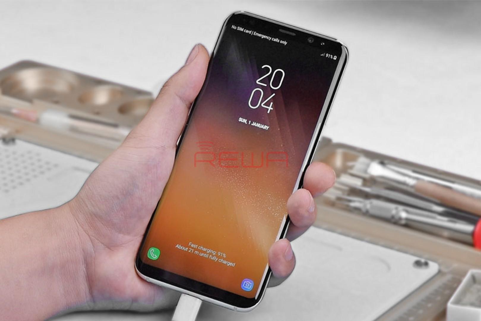 چگونه مشکل عدم شارژ  گوشی Samsung Galaxy S8 Plus را برطرف کنیم